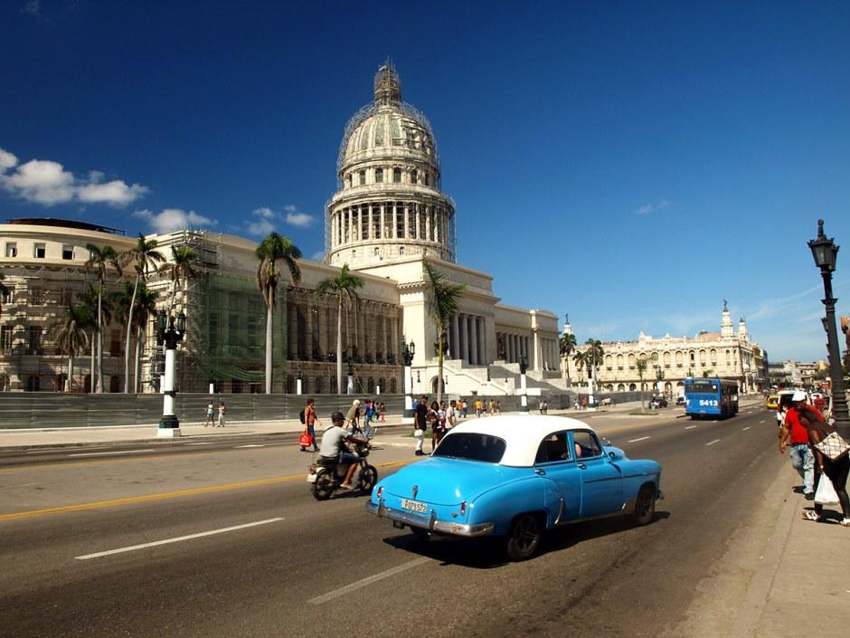 Hawana, stare samochody, oldmobile, podróż, foto