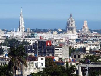 Kuba, Hawana, panorama miasta, podróż, zdjęcia