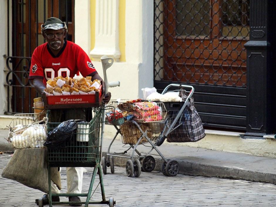 Kuba, Hawana, zycie uliczne, fotografia podróżnicza