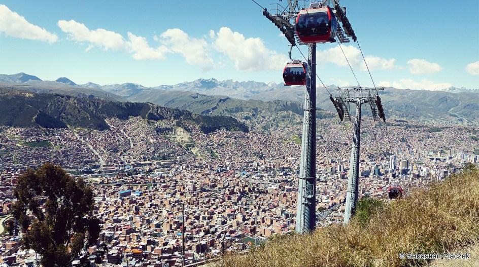 Boliwia, La Paz, panorama miasta, zdjęcia, photo