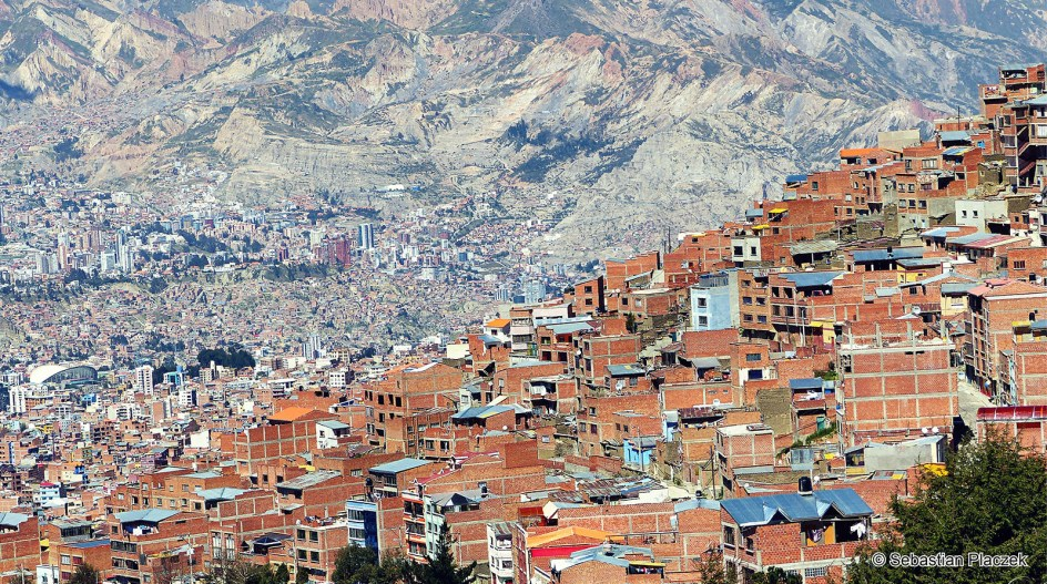 BOLIWIA, La Paz. Panorama miasta, zdjęcia z podróży