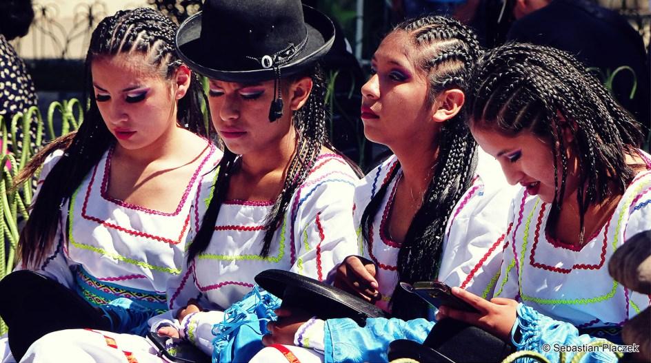 Boliwia, Sucre, fiesta, festyn, street photo