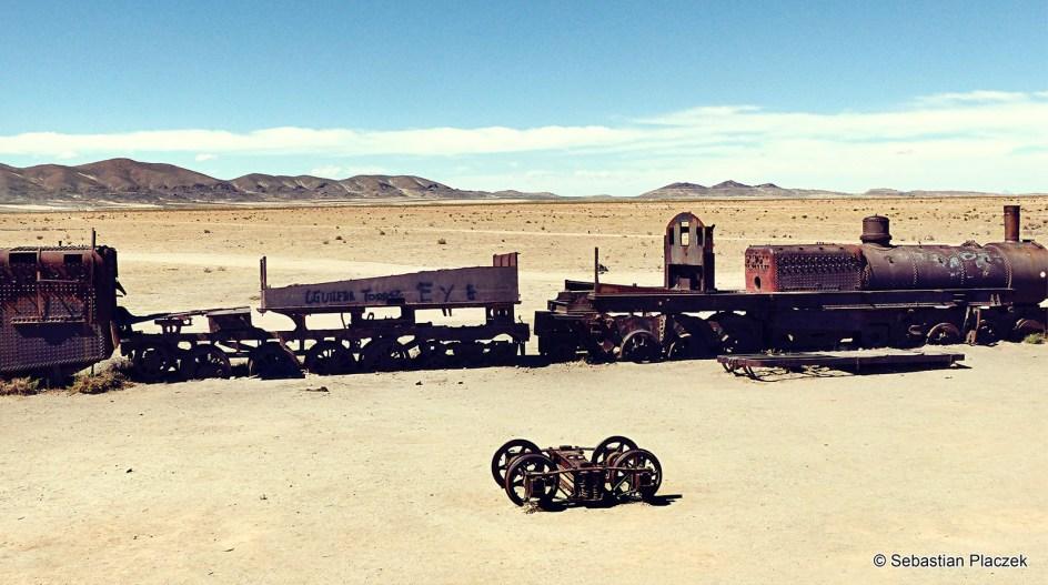 Boliwia, Uyuni, turystyka, cmentarzysko pociągów