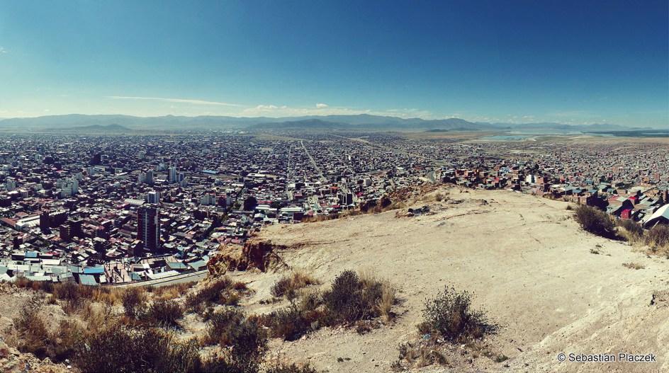 BOLIWIA, Oruro. Panorama miasta, zdjęcia z podróży