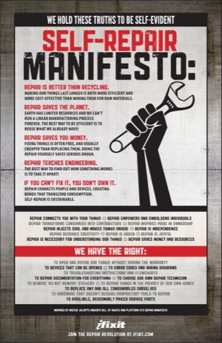 Ifixit Manifesto