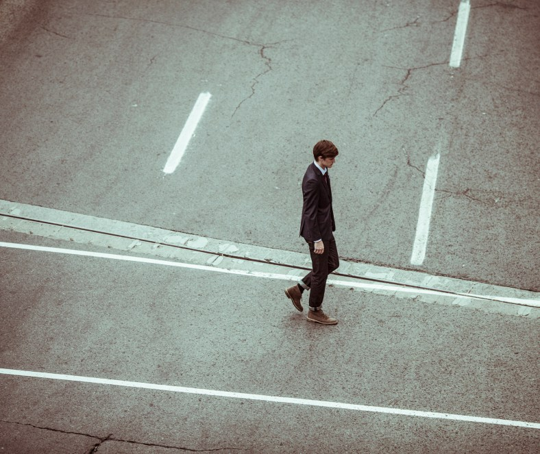 Dude Walkin by Alejandro Escamilla from Unsplash.com