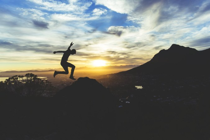 Jumping man by Joshua Earle from Unsplash.com