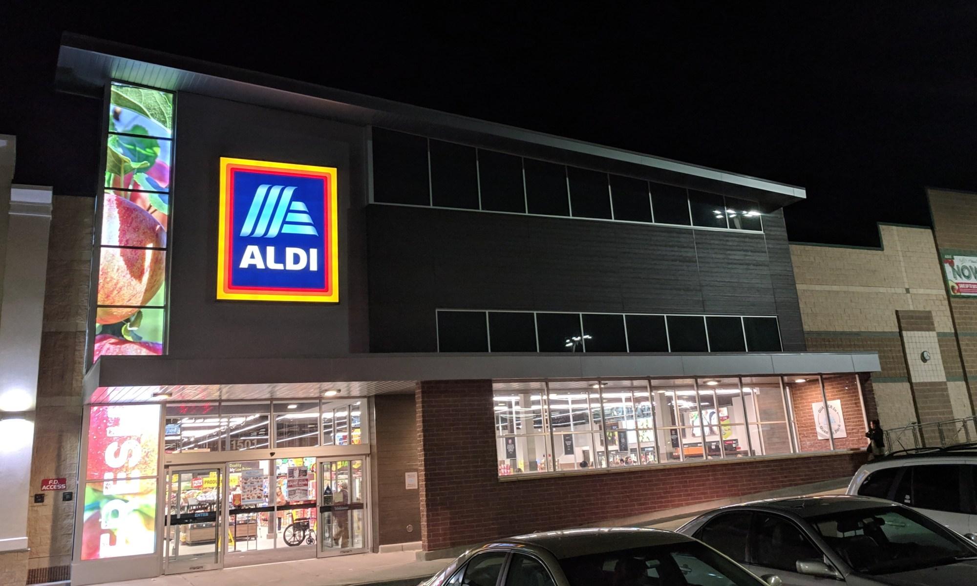Aldi: Now Open