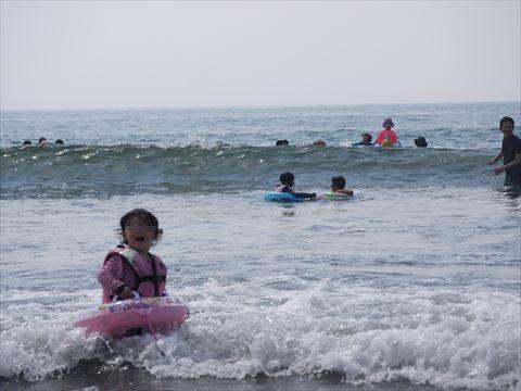 2017年 静波キャンプグランド 海水浴