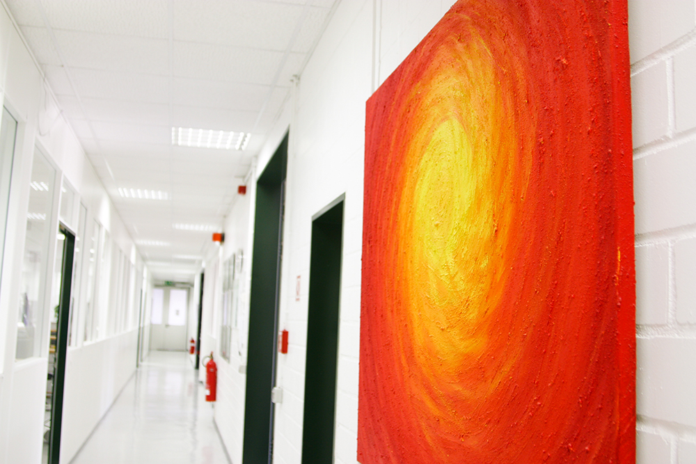 Impressionen aus unserem transparentem Labor