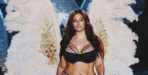 Η Άσλεϊ Γκράχαμ θέλει να γίνει άγγελος της Victoria's Secret