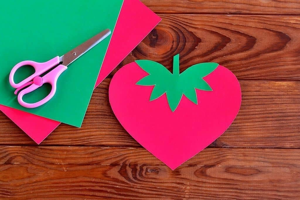 Strawberry Art Ideas For Preschoolers