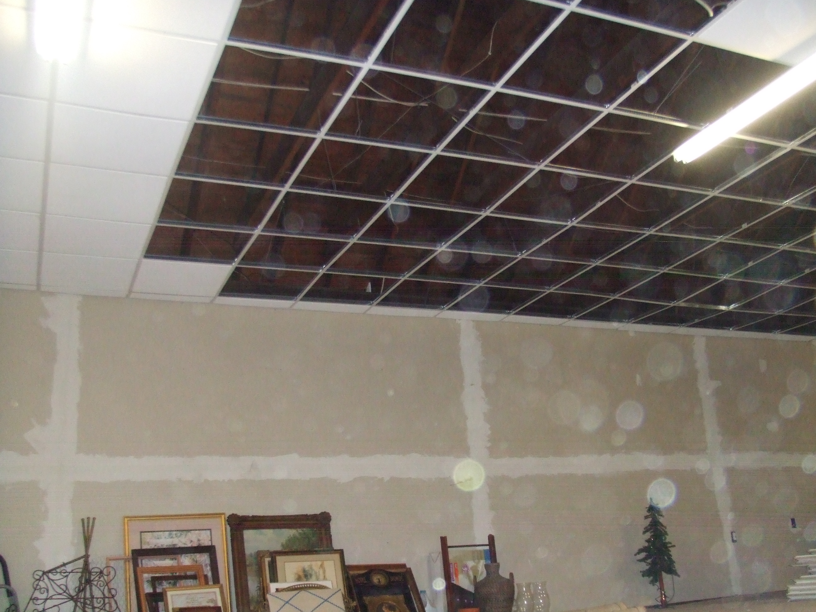 Drop in ceiling (were they serious?)