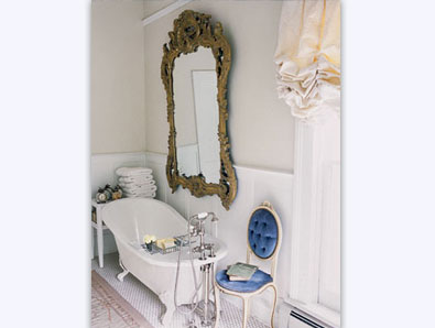 Inspiration- love the mirror!