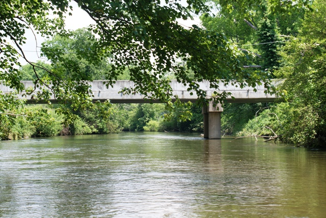 A bridge over the French Broad, Rosman NC