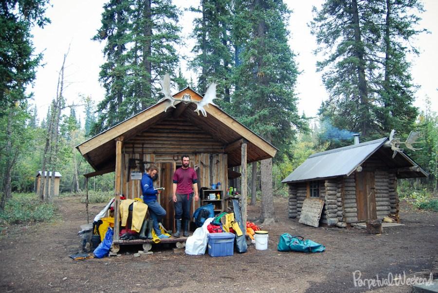 chitina trappers cabin, alaska