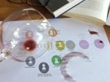 Glas wijn op 7E-model
