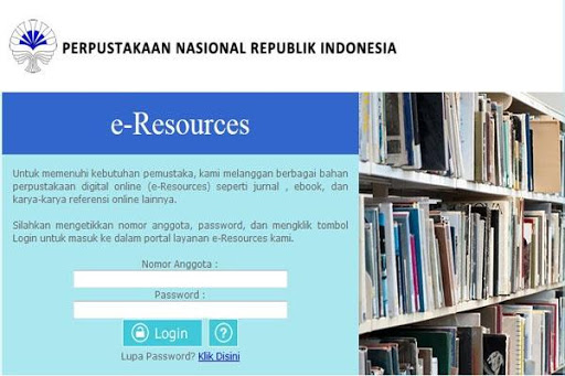 eresources perpusnas perpustakaan rs cicendo