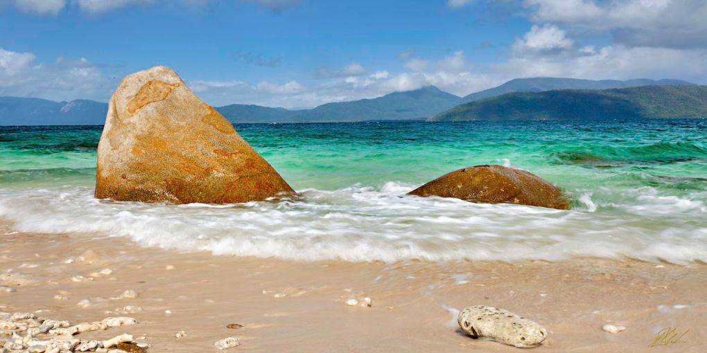Fitzroy Island Two Rocks Far North Queensland Photography