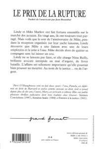 Breach of Promise French Edition Back