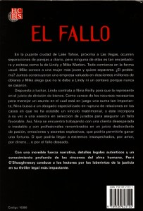 Breach of Promise Spanish Edition Back