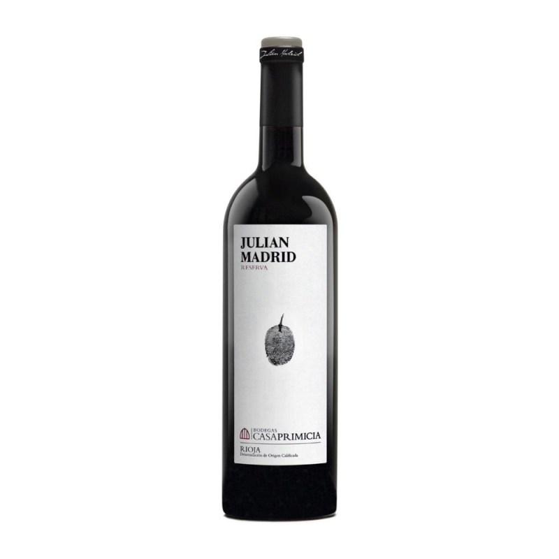 Bouteille Julian Madrid Reserva Rioja Doca 2015