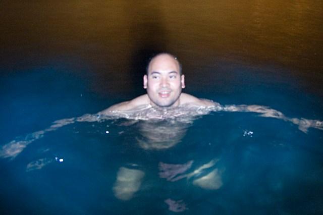 Nadando en la bahía bioluminiscente de Vieques