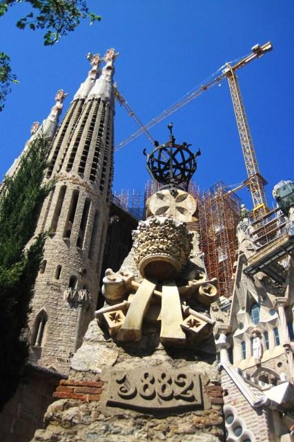 El Templo Expiatorio de la Sagrada Familia, en Barcelona