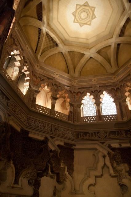 Oratorio del palacio taifa de la Aljafería, Zaragoza, España