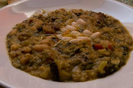 Un buen plato de ribollita