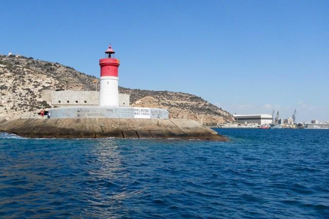 Faro de Navidad, Cartagena, Murcia, España