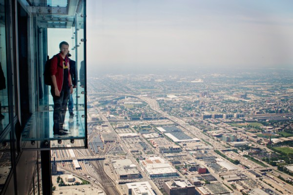 Willis Tower Skydeck Ledge Chicago