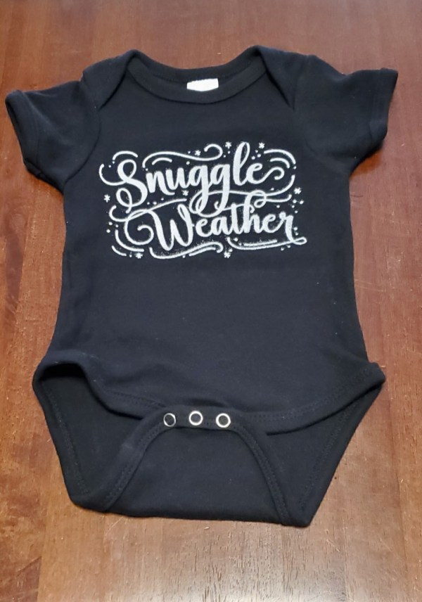 onesie snuggle weather