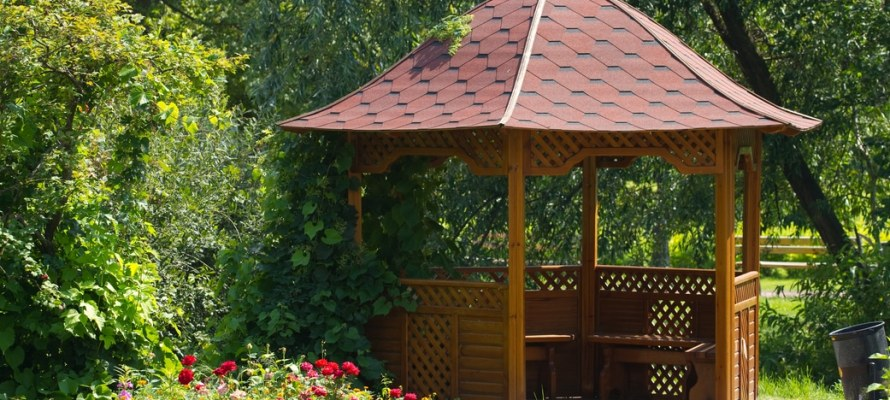 Utah home builder gazebo