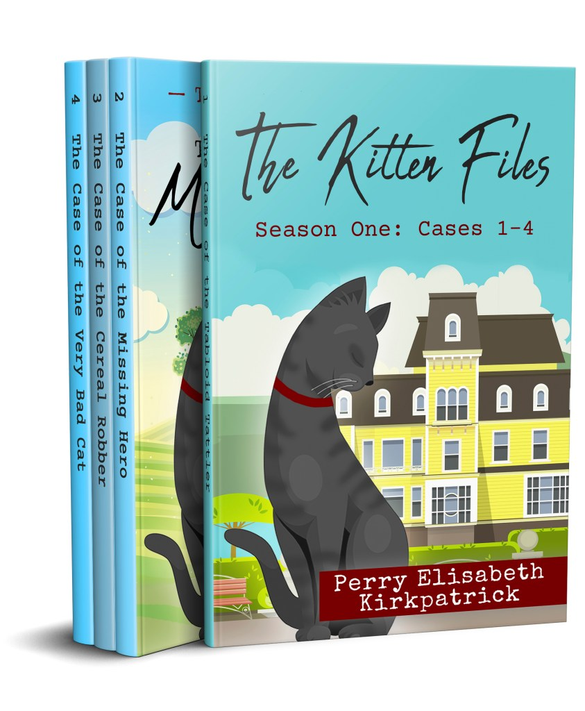 Book Cover: The Kitten Files, Season One: Cases 1-4