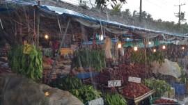 Market in Prachuap Khiri Khan, Thailand