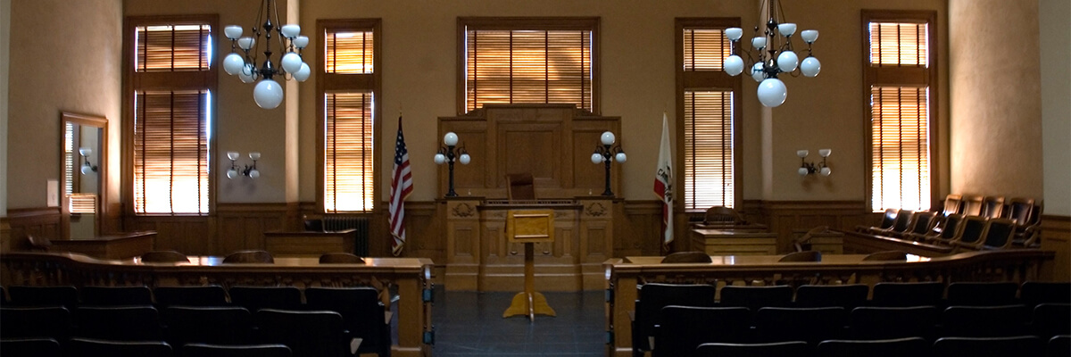Inside of Courtroom