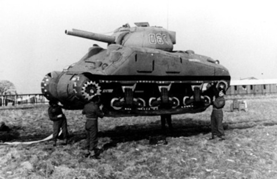 In the Second World War the Allies used Inflatable Tanks to Trick the Nazis