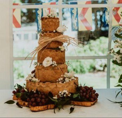 Groomsmens Wedding Cake