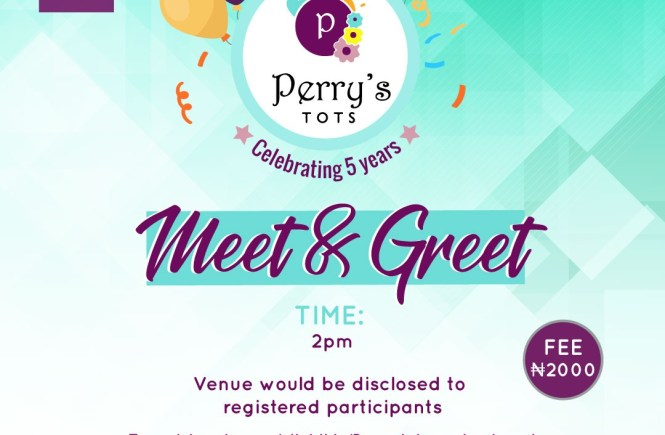 Perry's Tots Meet & Greeet