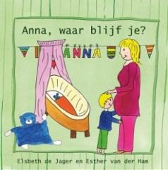 Boek Anna waar blijf je Cover - eerste druk