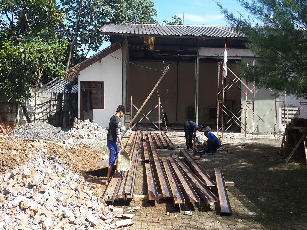 Renovasi Kantor dan Gudang di Bogor