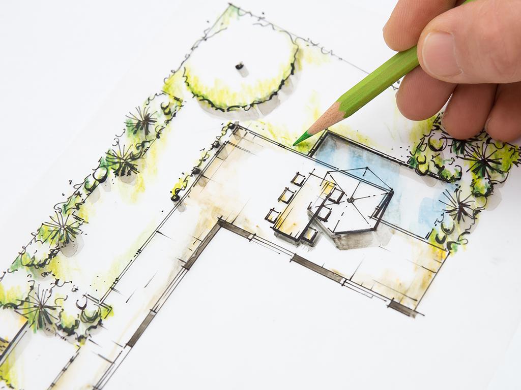 5 Tips dalam membuat desain taman