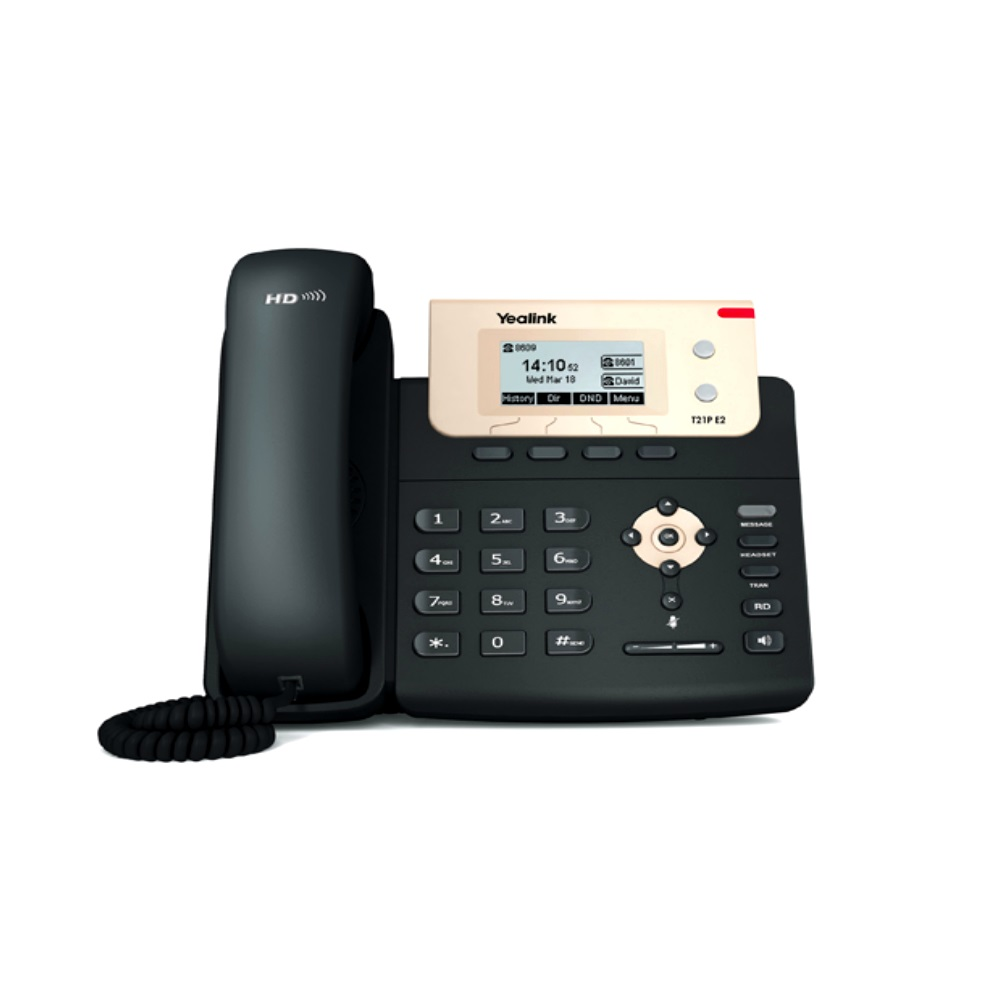 Yealink T21P IP Telefon Fiyat Listesi | Yealink T21P E2 IP Telefon Fiyatı