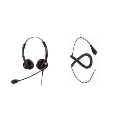 PK100DC24 Mikrofonlu Kulaklık Seti