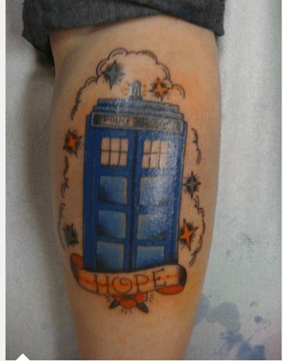 Persephone Symbol Tattoo
