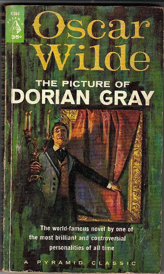 The Picture of Dorian Gray by Oscar Wilde Book Cover Art