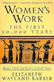 Yellow cover of Women's Work the First 20,000 Years