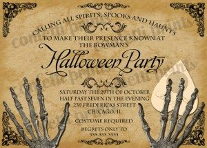 Calling All Spirits Printable Invitation by ConfettiPrintsShop, $12.00