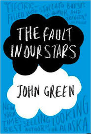 """The cover of """"The Fault in our Stars"""" by John Green."""